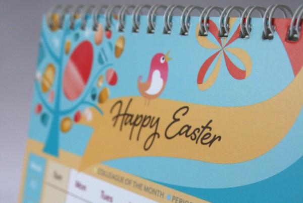 Wiro Binding Calendars